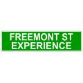 Freemont Street Sign