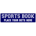 Sports Book Street Sign