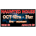 Haunted House Banner 1