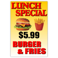Lunch Special Sign 01