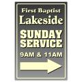 Sunday Service Sign 01
