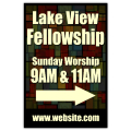 Sunday Service Sign 02