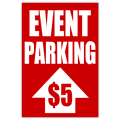 Event Parking Sign 02