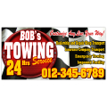Towing Company Banner 102
