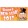 Happy New Year Banner 102