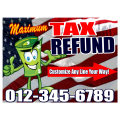 Tax Refund Signs 101