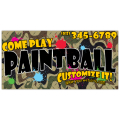 Paintball Advertising Banner 101