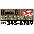 Roofing Company Banner 101