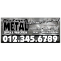 Metal Fabrication Banner 101