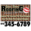 Roofing Sign 115