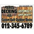 Deck Services Sign 101