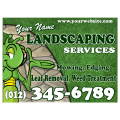 Landscaping Services Sign 105