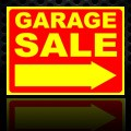 Garage Sale Sign Yellow 18x24
